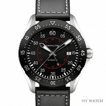 Hamilton ハミルトン (Hamilton) Khaki Aviation Pilot GMT(NEW)