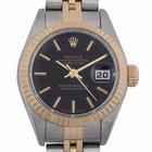 Rolex Ladies Datejust : 79173 black dial on Jubilee bracelet...