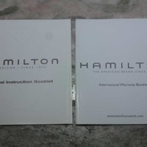 Hamilton vintage kit  booklet warranty papers newoldstock
