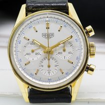 TAG Heuer CS3140 Carrera 1964 Heuer Re Edition 18K Yellow Gold...