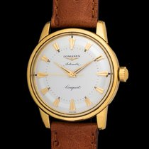 Longines Conquest Automatic in 18K Yellow Gold