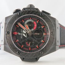 Hublot F1 King Power in Black Ceramic Carbon Fiber Bezel