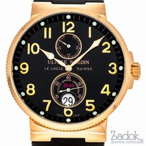 Ulysse Nardin Maxi Marine Chronometer 41mm 18kt Rose Gold...