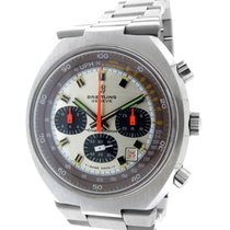 "Breitling ""Transocean"" Stainless Steel Chronograph"