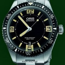 Oris Divers Sixty Five 65 Stainless Steel 40mm Automatic B&P