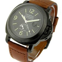 Panerai PAM00028A PAM 28 -Power Reserve Silver Arrow Hobnail...