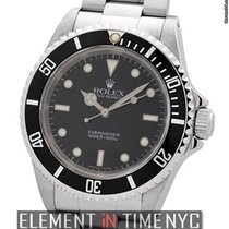 Rolex Submariner No-Date Stainless Steel Black Dial X Serial...