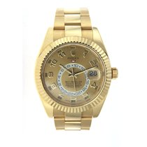 Rolex Sky-Dweller 18K Solid Yellow Gold