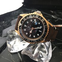 Steinhart Ocean One GMT - 24ct Vollvergoldet