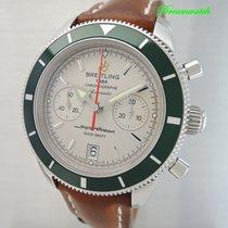 Breitling Superocean Heritage Chronograph A23370 (green bezel)