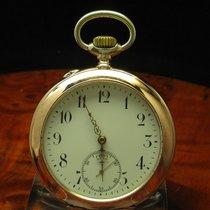 IWC 800 Silber / Gold Mantel Open Face Taschenuhr Von Ca. 1908...