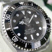 Rolex Sea-dweller Deepsea 116660 Mens Stainless Steel Black...