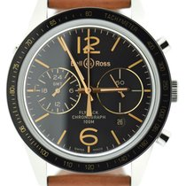 Bell & Ross Vintage Flyback GMT Chronograph Steel