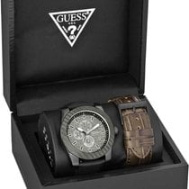 Guess Etched Day-Date W0079G2