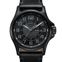 Luminox Mens Field Automatic Day/Date Watch - Black Dial/Case/...