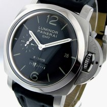 Panerai Unworn  Pam 233 Steel 44 Mm Luminor 1950 Gmt 8 Days...