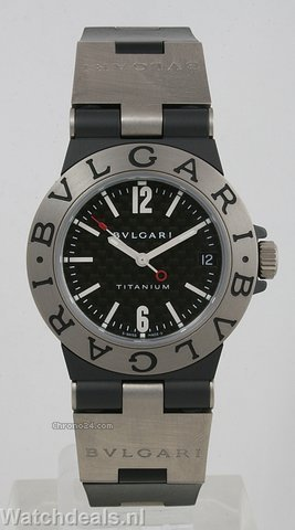 Bulgari Diagono Titanium