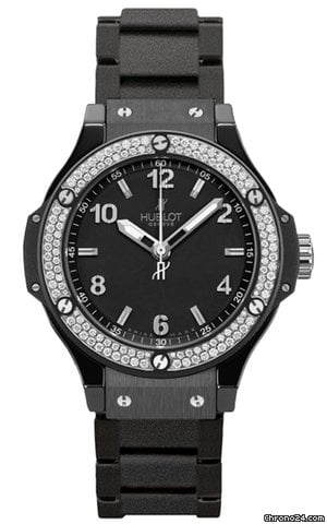 Hublot Big Bang Quartz Black Magic 38mm