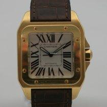 Cartier Santos 100 XL Gelbgold W20108Y1