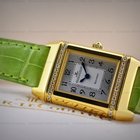 Jaeger-LeCoultre Reverso Florale 18K Yellow Gold
