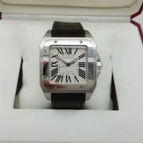 Cartier Cally - W20073X8 Santos 100 XL Large Size Automatic [NEW]