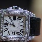 Cartier Santos 100 XL 2656 Diamond Case