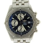 Breitling Crosswind Racing Blue Dial Chronograph Stainless Steel