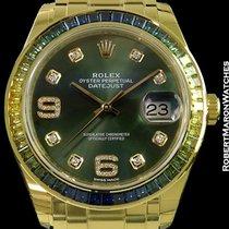 Rolex Pearlmaster 39 Datejust Bageutte Bezel 86348sablv New