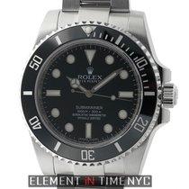 Rolex Submariner No-Date Stainless Steel Black Dial  Ref. 114060