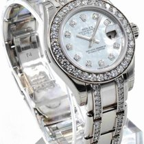 Rolex Pearlmaster Ref. 80299 MOP Dial 18K White Gold 29mm...