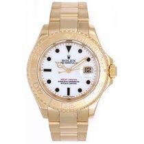 Rolex Yacht-Master Men's 18k Yellow Gold Watch 16628