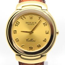 Rolex Cellini 6623/8 18k Gold, Box & Papers