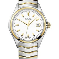 Ebel 1216203 Mens Wave Gent 2-Tone in Stainless Steel and...