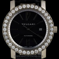 Bulgari 18k White Gold Diamond Bezel B&P BBW42C5GDLDAUTO