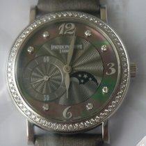 Patek Philippe Ladies Moonphase White Gold 4958G