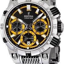 Festina Chrono Bike 2014 F16774/7 Herrenchronograph Massives...