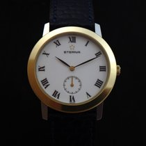 Eterna Mechanical Eterna Steel Gold Watch 90's
