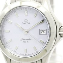 Omega Seamaster 120m Mop Dial Quartz Ladies Watch 2581.84...