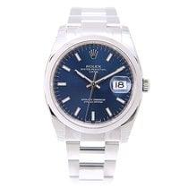 ロレックス (Rolex) Oyster Perpetual Date Stainless Steel Blue...
