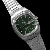 Omega 1983 Seamaster Vintage Mens Stainless Steel TV Watch,...