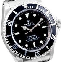 """Rolex SS 40mm No-Date Submariner """"4-Liner"""" Inner Bezel..."""