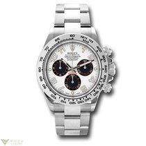 Rolex Oyster Perpetual Cosmograph Daytona 18K White Gold Watch