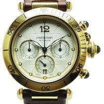 Cartier Pasha Oro Amarillo Cronómetro
