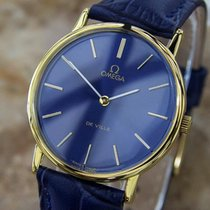 Omega Deville Swiss Made Men's 1980s Luxury Manual Gold...