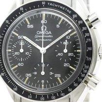 Omega Polished Omega Speedmaster Automatic Steel Mens Watch...