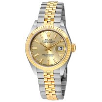 Rolex Lady Datejust Steel and 18K Yellow Gold Automatic Watch...