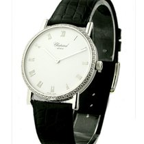 Chopard 17/3154 Classique in White Gold with Diamond Bezel -...