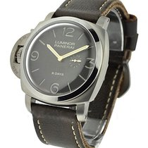 Panerai PAM 368 Luminor 1950 Left handed 8 Days in Titanium