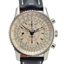 Breitling Montbrillant Navitimer Datora Stainless Steel on...