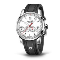 Eberhard & Co. Chrono 4 Grand Taille quandrante bianco,...